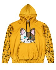 Cat All Over Print Hoodie Men's All Over Print Hoodie front
