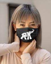 donald trump elephant mask Cloth Face Mask - 3 Pack aos-face-mask-lifestyle-18