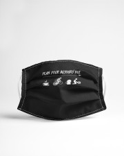 plan pour aujourdhui i like coffee cycling mask Cloth Face Mask - 3 Pack aos-face-mask-lifestyle-22