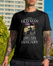 drums eng oma nev2 01 26301543 Classic T-Shirt lifestyle-mens-crewneck-front-8