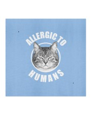 allergic to humans funny cat t mask Cloth face mask aos-face-mask-coverlet-lifestyle-front-02