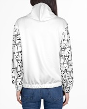 LIFE WITH CATS IS A BEAUTIFUL RIDE Women's All Over Print Hoodie aos-complex-women-hoodie-lifestyle-back-01