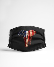 july 4th usa american flag african elephant mask Cloth Face Mask - 3 Pack aos-face-mask-lifestyle-22