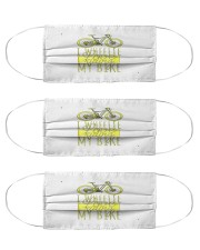 cycling 3 mask Cloth Face Mask - 3 Pack front