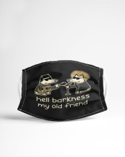 teddy the dog hell barkness my old frie mask Cloth Face Mask - 3 Pack aos-face-mask-lifestyle-22