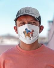 boxer dog flag t mask Cloth Face Mask - 3 Pack aos-face-mask-lifestyle-06