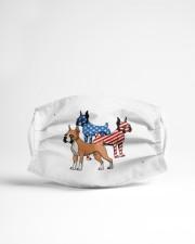 boxer dog flag t mask Cloth Face Mask - 3 Pack aos-face-mask-lifestyle-22