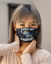 earth day every day elephant earth symbol e mask Cloth Face Mask - 3 Pack aos-face-mask-lifestyle-18