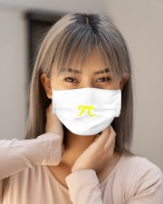 it just keeps going and going and going pi mask Cloth Face Mask - 3 Pack aos-face-mask-lifestyle-18