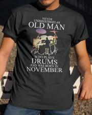 drums eng oma nev2 11 26300932 Classic T-Shirt apparel-classic-tshirt-lifestyle-28