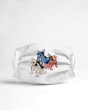 french bulldog flag t mask Cloth Face Mask - 3 Pack aos-face-mask-lifestyle-22