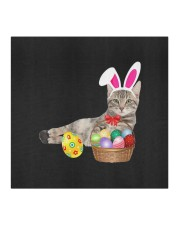 easter cat bunny ears and eggs mask Cloth face mask aos-face-mask-coverlet-lifestyle-front-02