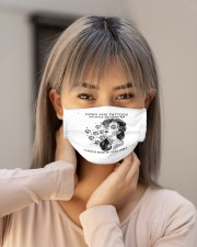 tattoo girl dog and tattoos make me happy h mask Cloth Face Mask - 3 Pack aos-face-mask-lifestyle-18