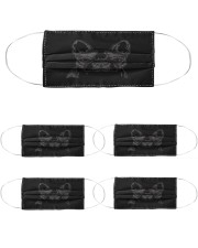 bull dogs 3 mask Cloth Face Mask - 5 Pack front