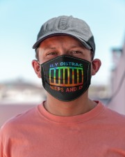 easily distracted by jeeps and dogs mask Cloth Face Mask - 5 Pack aos-face-mask-lifestyle-06