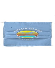 amelia island florida family vacation sunse mask Cloth face mask front