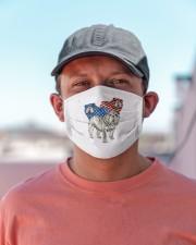 bulldog flag t mask Cloth Face Mask - 3 Pack aos-face-mask-lifestyle-06