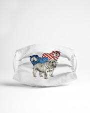 bulldog flag t mask Cloth Face Mask - 3 Pack aos-face-mask-lifestyle-22