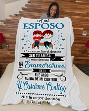 "Es - Hb Marrying  Large Fleece Blanket - 60"" x 80"" aos-coral-fleece-blanket-60x80-lifestyle-front-04"
