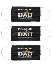 i am a cycling dad like a normal dad but mu mask Cloth Face Mask - 3 Pack front
