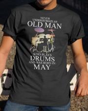 drums eng oma nev2 05 26301064 Classic T-Shirt apparel-classic-tshirt-lifestyle-28