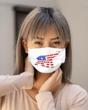 elephant american flag mask Cloth Face Mask - 3 Pack aos-face-mask-lifestyle-18