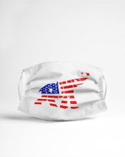 elephant american flag mask Cloth Face Mask - 3 Pack aos-face-mask-lifestyle-22