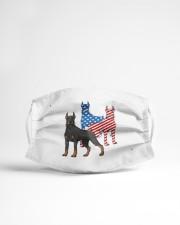 doberman dog flag t mask Cloth Face Mask - 3 Pack aos-face-mask-lifestyle-22