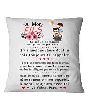 Figlia Papà Square Pillowcase tile