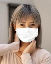 rocking the dog mon and nurse life mask Cloth Face Mask - 3 Pack aos-face-mask-lifestyle-18