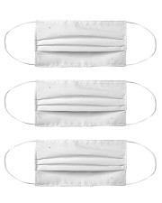 rocking the dog mon and nurse life mask Cloth Face Mask - 3 Pack front