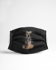 elephant mask Cloth Face Mask - 3 Pack aos-face-mask-lifestyle-22