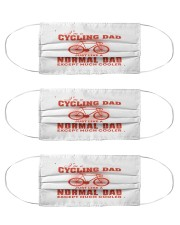 bike 30 cycling dad mask Cloth Face Mask - 3 Pack front