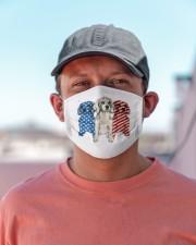 beagle dog flag t mask Cloth Face Mask - 3 Pack aos-face-mask-lifestyle-06