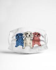 beagle dog flag t mask Cloth Face Mask - 3 Pack aos-face-mask-lifestyle-22