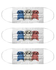beagle dog flag t mask Cloth Face Mask - 3 Pack front