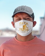 papa the man the myth the cycling legend co mask Cloth Face Mask - 3 Pack aos-face-mask-lifestyle-06