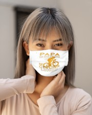 papa the man the myth the cycling legend co mask Cloth Face Mask - 3 Pack aos-face-mask-lifestyle-18