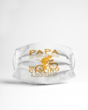 papa the man the myth the cycling legend co mask Cloth Face Mask - 3 Pack aos-face-mask-lifestyle-22