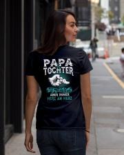 PAPA and TOCHTER Ladies T-Shirt lifestyle-women-crewneck-back-1