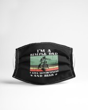 simple dad motorcycling mask Cloth Face Mask - 3 Pack aos-face-mask-lifestyle-22