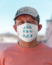 elephant yoga mask Cloth Face Mask - 3 Pack aos-face-mask-lifestyle-06