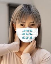 elephant yoga mask Cloth Face Mask - 3 Pack aos-face-mask-lifestyle-18