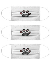 my dog and me diehard fans ch mask Cloth Face Mask - 3 Pack front