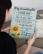to my grandma canvas 11x14 Gallery Wrapped Canvas Prints aos-canvas-pgw-11x14-lifestyle-front-36