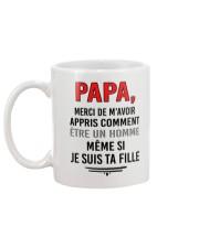 FILLE PAPA HOMME Mug back