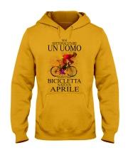 Bicycle Man Italian 06 Hooded Sweatshirt tile