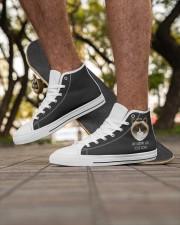 Shoe Newest Men's Low Top White Shoes Men's High Top White Shoes aos-complex-men-white-high-top-shoes-lifestyle-inside-left-outside-left-01