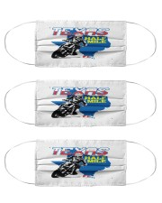 motorcycling texas backroads mask Cloth Face Mask - 3 Pack front