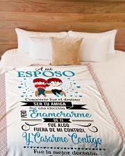 "Es - Hb Marrying  Large Fleece Blanket - 60"" x 80"" aos-coral-fleece-blanket-60x80-lifestyle-front-02"